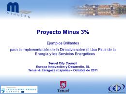 Proyecto Minus 3%