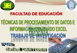 Tema 10: Juegos Lógico matemático - Facultad de Educación