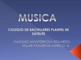 MUSICA Música
