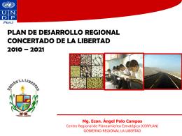 zonas de desarrollo - SIR - Gobierno Regional La Libertad