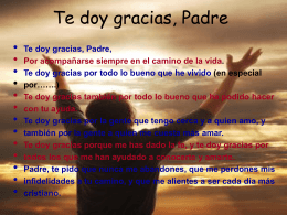 Te-doy-gracias-Padre - Centro Concertado Juan XXIII Cartuja