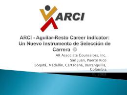 Desarrollo de ARCI para Seleccion de Carreras Colombia
