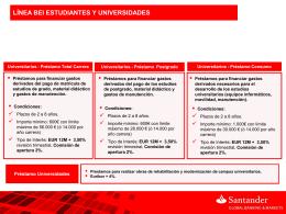 Resumen BEI Universidades 2015