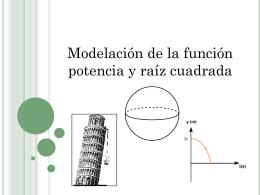 c21 PPT (Modelación de la función potencia)