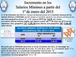 presentacion fnsi salarios 2015