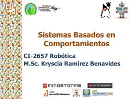 Comportamientos - M.Sc. Kryscia Ramirez