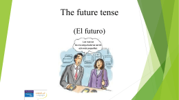 Future Tense Regular Verbs