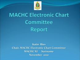 MACHC ECC Report to Plenary