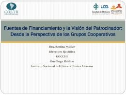 Modelos de cooperación en Investigación Traslacional