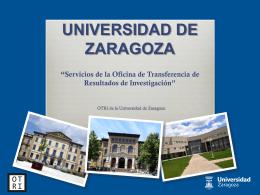 la Oficina de Transferencia de Resultados de Investigación (OTRI)