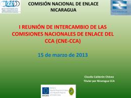 Primera reunión de intercambio CNE