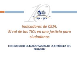 Reunión CEJA - IDRC
