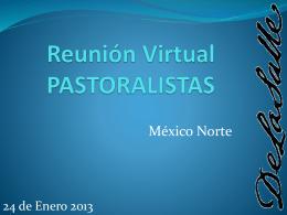 Reunión Virtual - La Salle México Norte