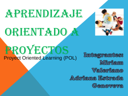 Estrategia de Aprendizaje Orientados a Proyectos - upn283