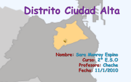 Distrito Ciudad Alta