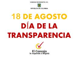 Día de la Transparencia