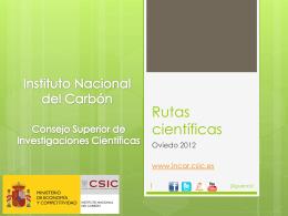 Rutas_cientificas_2012 - digital-csic Digital CSIC