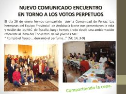 Eclesiología - Misioneras de la Inmaculada Concepción