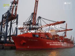 Gestión Financiera de las Exportaciones