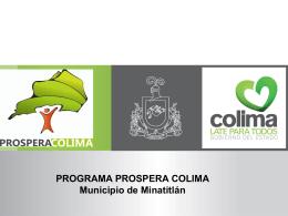 Presentación Minatitlán - SECRETARIA DE DESARROLLO SOCIAL.