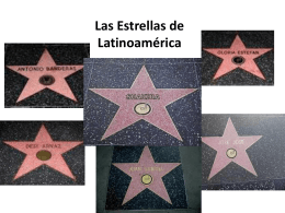 Estrellas de Latinoamerica