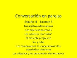 Conversación en parejas