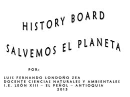 Storyboard SALVEMOS EL PLANETA ( LUIS