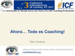 Presentacion ICF Dani Jimenez