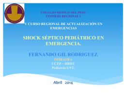 SSP en Emergencia Abril 2014 - CMP