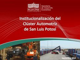 Panel Cluster Automotriz Lic Jose Antonio Montes