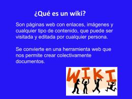Que es un wiki - pachucaregion4