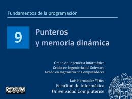puntero - Facultad de Informática