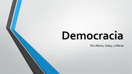 Democracia - SraFerdinand