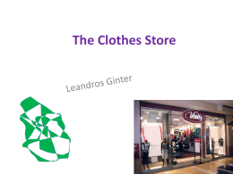 The Clothes Store