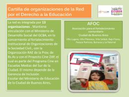 Cartilla AFOC - Fundación SES