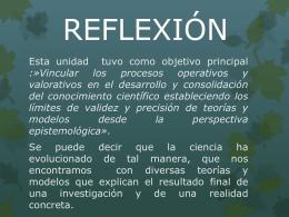 reflexión ii