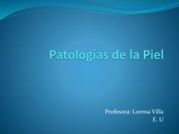 Patologia piel