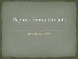 Reproducción alternante