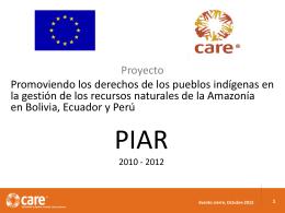 Informe PIAR Cierre
