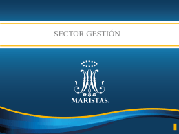 2015 14 SECTOR GESTION - Provincia Marista de México