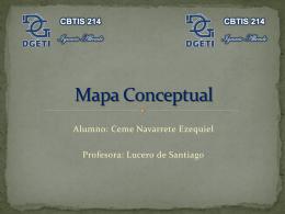 Mapa Conceptual - dgeti quintana roo