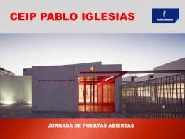 Educación Primaria - CEIP Pablo Iglesias, Talavera de la Reina