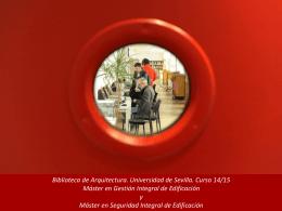 Presentación de PowerPoint - Biblioteca Universidad de Sevilla