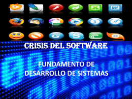crisis del software - educa