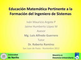 - Universidad de Nariño
