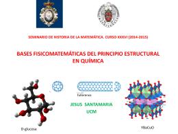 bases fisico-matemáticas del principio estructural en química