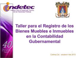 material presentado - Instituto Técnico Hacendario del Estado de