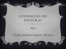 Exposición de pinturas.
