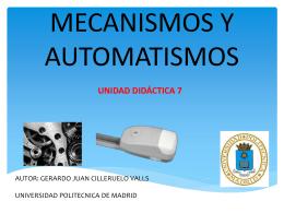 MECANISMOS Y AUTOMATISMOS1