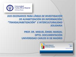 Transalfabetización e interculturalidad solidaria